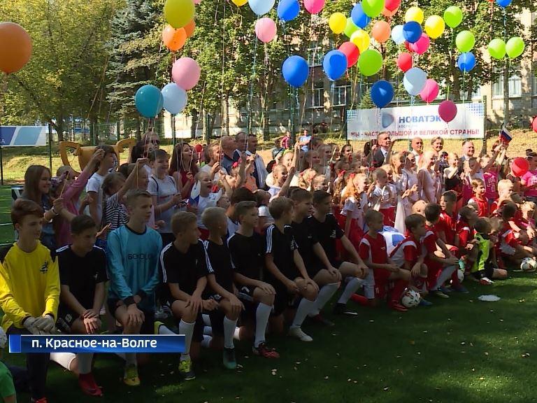 В Костромской области стартовал третий турнир по мини-футболу на кубок компании «НОВАТЭК»