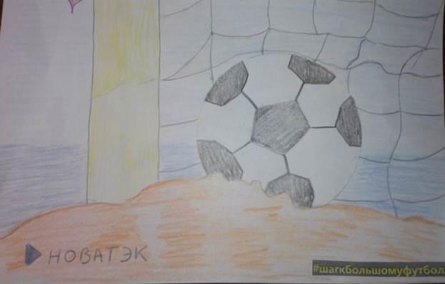 Итоги конкурса рисунка в рамках проекта Кубок «НОВАТЭК» — «Шаг к большому футболу!»