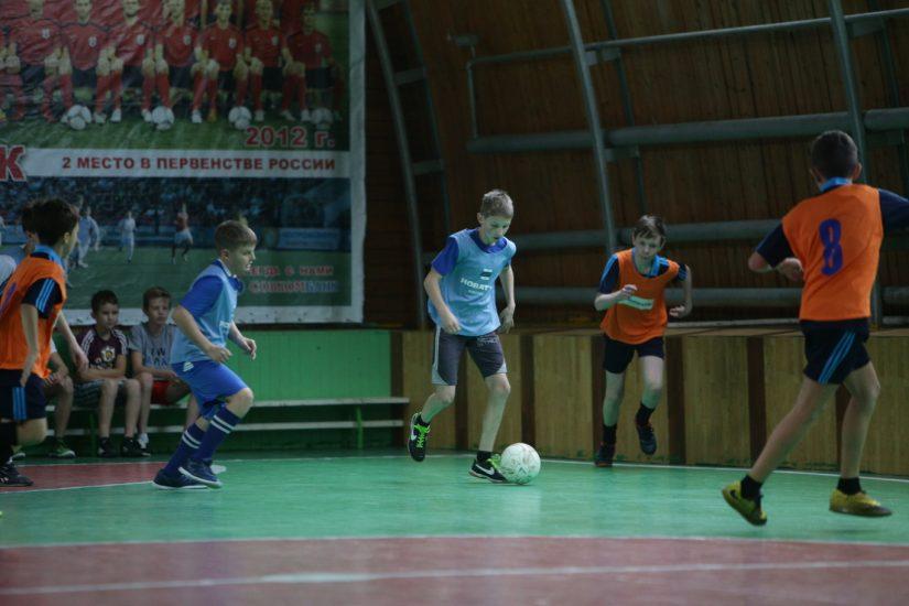 2 ноября в г. Шарья прошли зональные соревнования по мини-футболу на Кубок «НОВАТЭК»-«Шаг к большому футболу!»