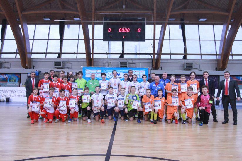 Серебряные призёры соревнований на Кубок «НОВАТЭК» «Шаг к большому футболу» добились высокого результата на уровне ЦФО