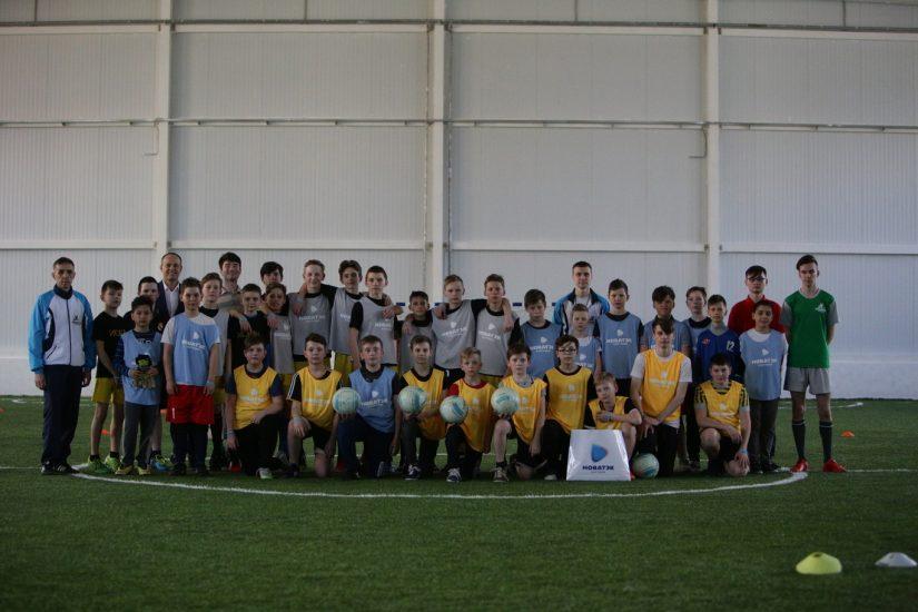 Мастер классы по мини футболу  школьные команды Середняковской, Ильинской, Космынинской и Караваевская