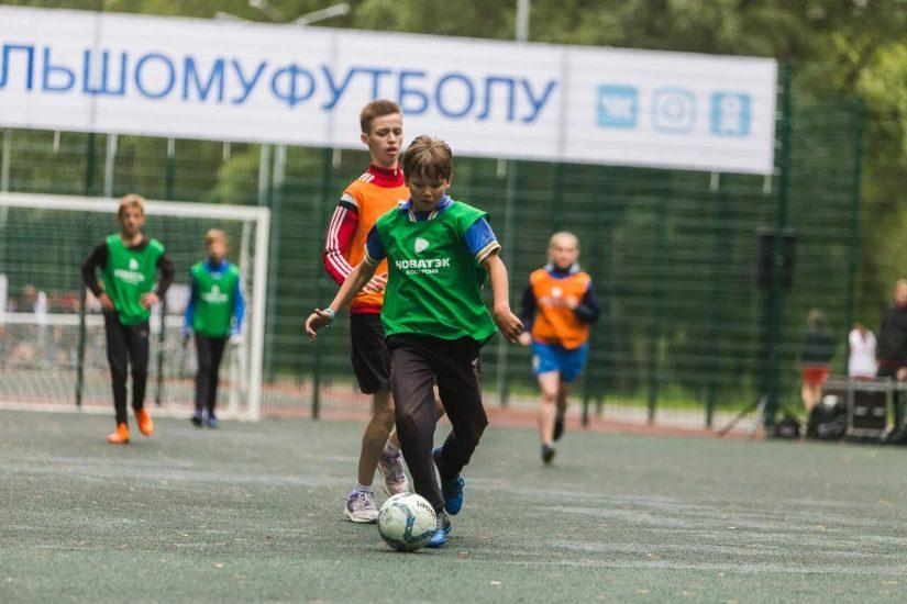 10 августа в парке Берендеевка г.Костромы в честь Дня физкультурника и 25-летия ПАО «НОВАТЭК» состоялся мини тур по футболу