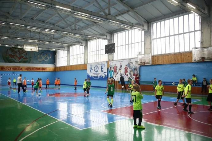 Спортивный зал в Мантурове преобразился благодаря компании «НОВАТЭК-Кострома»